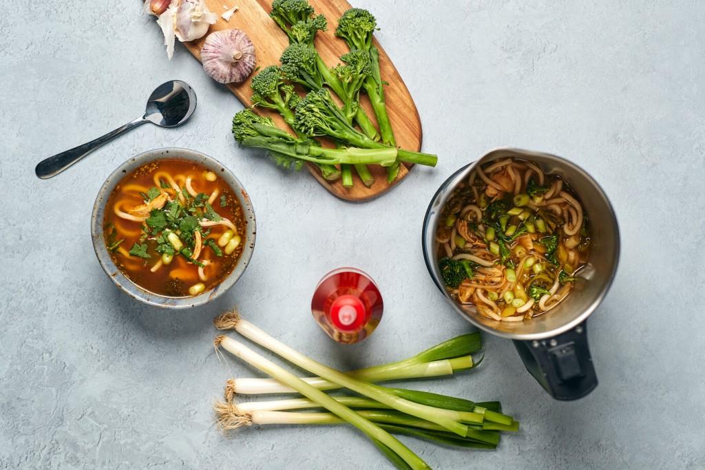 Supa de pui pregatita cu Soup Maker Morphy Richards (1)