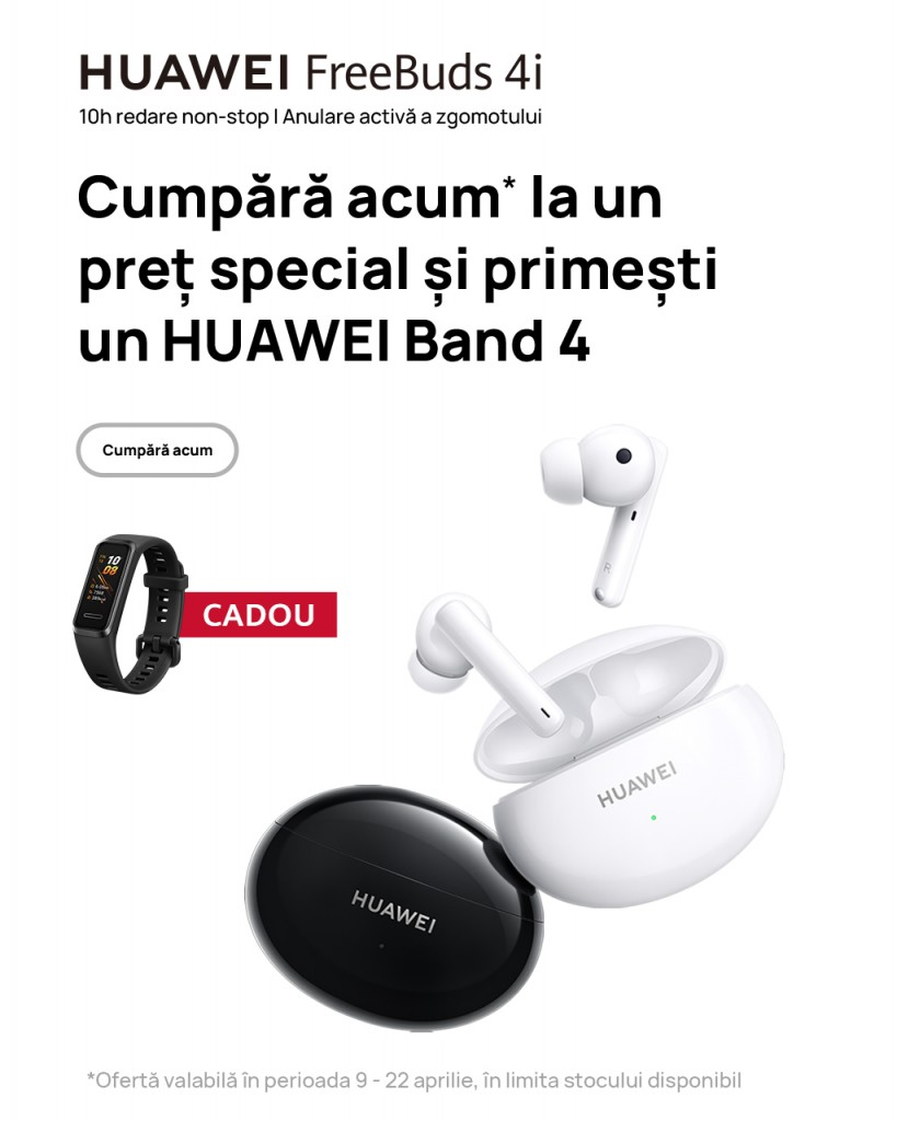 Ofertă bundle HUAWEI FreeBuds 4i (8)