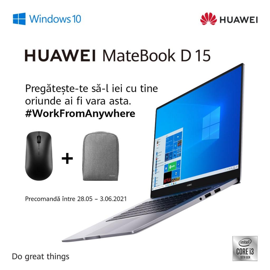 Promoție MateBook D15 (1)