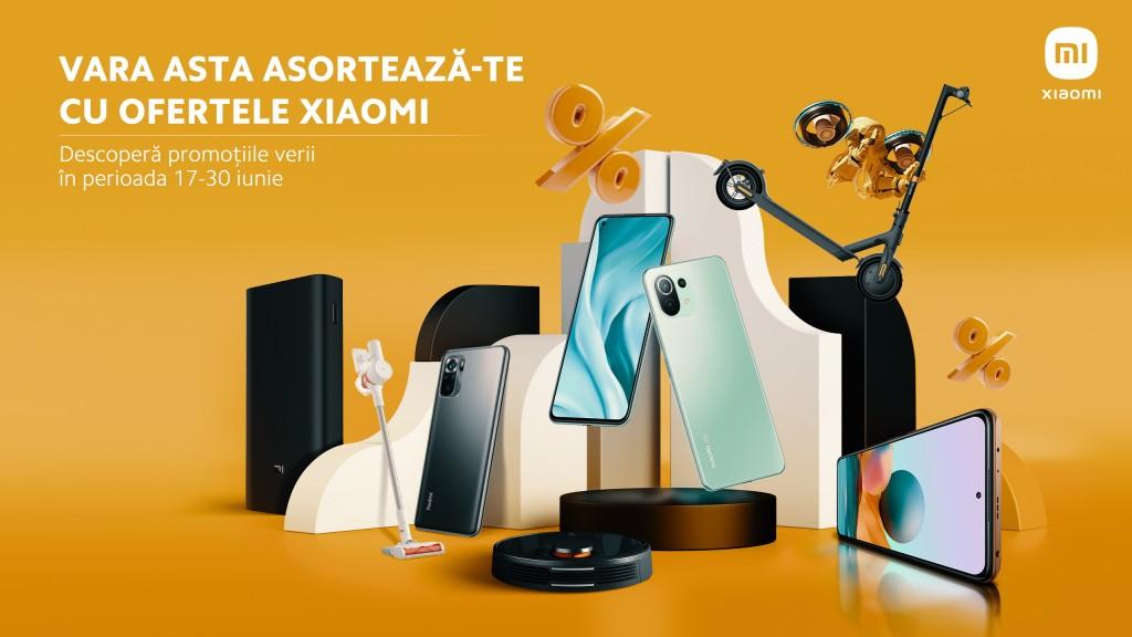 KV Xiaomi ofertele verii